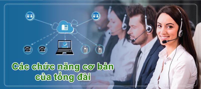 Các chức năng cơ bản của tổng đài: Call transfer, Call Pickup, Call Forward