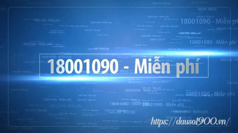 Nhà mạng MobiFone hỗ trợ tổng đài: 1800 1090