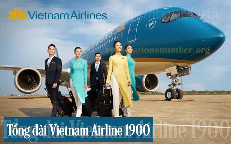 Số Điện Thoại Tổng Đài Vietnam Airline 1900 Là Số Bao Nhiêu?