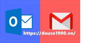 Đồng bộ gmail và outlook