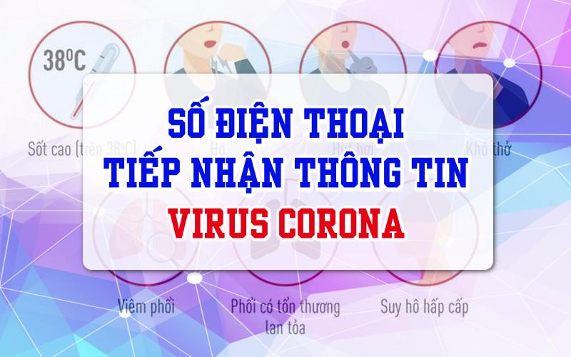Số Điện Thoại Tiếp Nhận Thông Tin Virus Corona Là Bao Nhiêu?