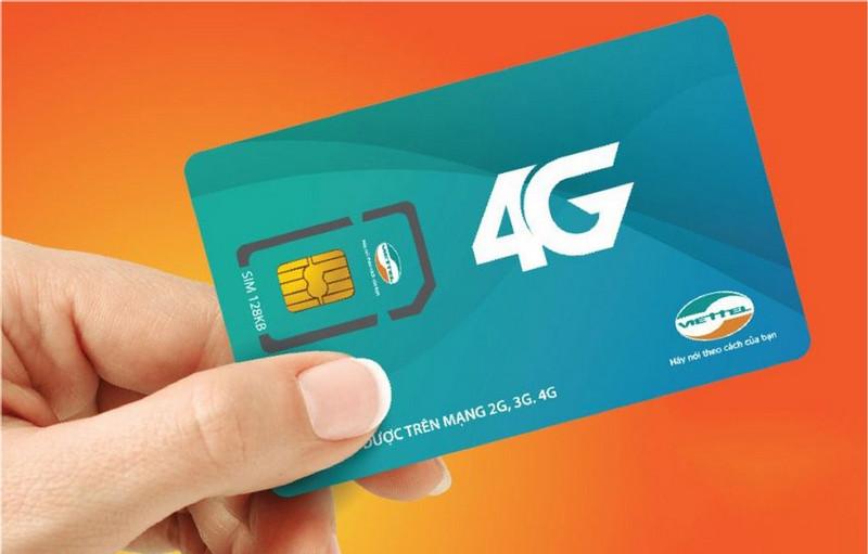 Tổng đài đăng kí 3G,4G Viettel
