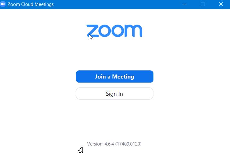 Hoàn tất cài đặtZoom meeting sẵn sàng sử dụng.